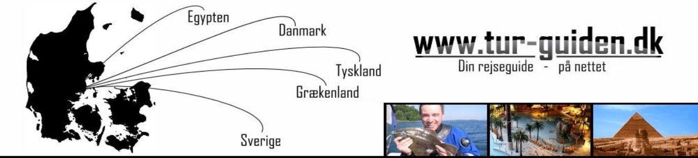 Tur-guiden.dk din danske rejse guide